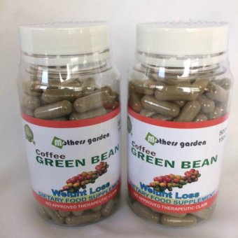 Mothers Garden Green Coffee Bean Capsule 500mg/150 capsules Set of2