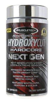 MuscleTech Hydroxycut Hardcore Next Gen Supplement, 180 Count