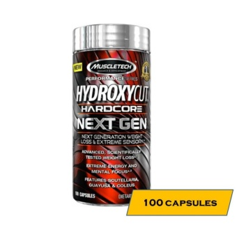 MuscleTech Hyrdroxycut Hardcore Next Gen Fat Burner - 100 Capsules