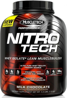 Muscletech Nitro-Tech Elite Series Whey Protein 4lbs