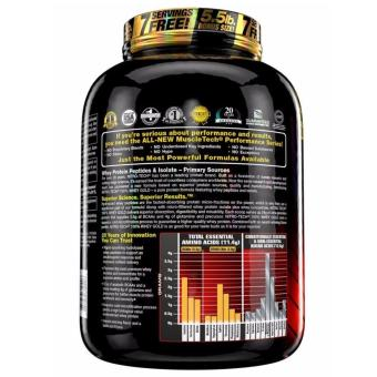 Muscletech Nitrotech Performance Series 100% Whey Gold Premium Protein Powder 5.5 lbs (Double Rich Chocolate Flavor) - 2