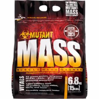 MUTANT MASS (MUSCLE MASS GAINER) 15LBS TRIPLE CHOCOLATE