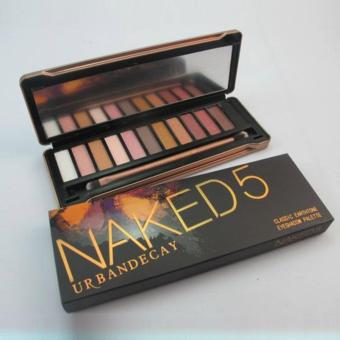 Naked 5 Eyeshadow Palette .