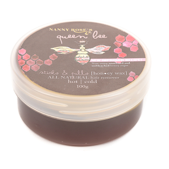 Nanny Roses Sticks and Pulls Honey Wax Hair Remover 100g