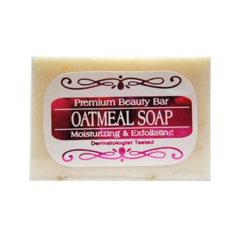 Natural & Handcrafted Oatmeal with Goat's Milk Soap 90g