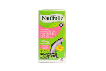 Naturalle Evening Primrose Oil + Omega 3 Fish Oil