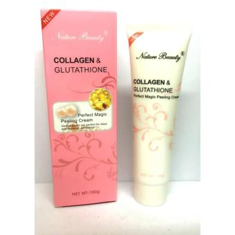 NATURE BEAUTY COLLAGEN AND GLUTATHIONE PEELING CREAM