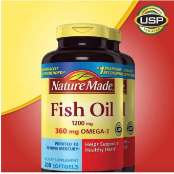 Nature Made Fish Oil 1200mg (180 Soft Gels) Price Philippines