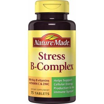 Nature Made Stress B Complex with Zinc Tablets 75 Tablets