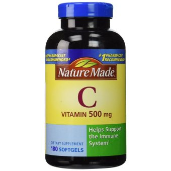Nature Made Vitamin C 500 mg, 180 Softgels