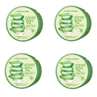 Nature Republic Aloe Vera Soothing Gel (Set of 4)