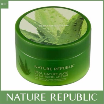 Nature Republic Real Nature Aloe Cleansing Cream