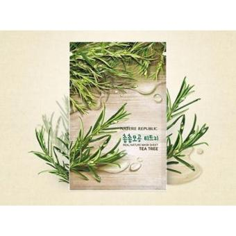 Nature Republic - Real Nature Mask Sheet Tea tree 2 sheets Price Philippines
