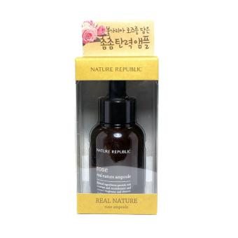 Nature Republic Real Nature Rose Ampoule 30ml Korean Cosmetics