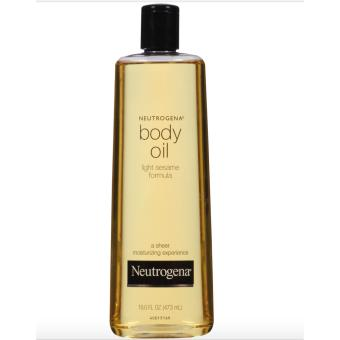 Neutrogena Body Oil Light Sesame Formula 473ML Price Philippines