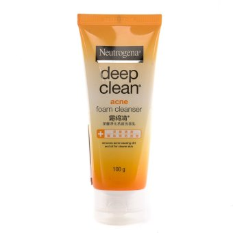 NEUTROGENA Deep Clean Acne Clearing Foam 100g