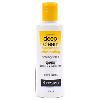 NEUTROGENA Deep Clean Blackhead Eliminating Toner 200ml Price Philippines