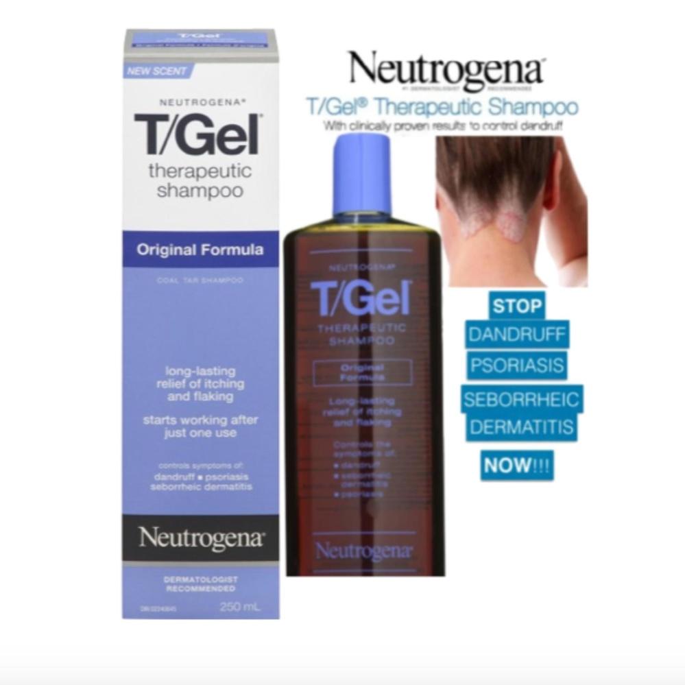Philippines | Neutrogena T/Gel Shampoo, Therapeutic
