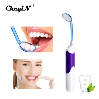New Arrival Oral Hygiene Super Bright Lighted LED Dental MirrorMouth Mirror kits Tooth Stain Eraser Plaque Remover - intl - 4