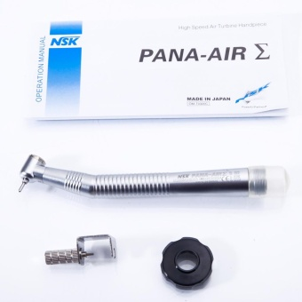 New Dental 2-Hole High Speed Air Turbine Handpiece Silver - intl