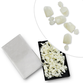 New Pro 1 Box Dental Anterior Materials Mixed Temporary Crown - 2