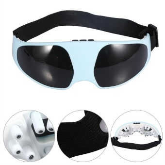 New Useful Electric Relieve Fatigue Healthy Migraine Mask ForeheadEye Massager - intl - 3