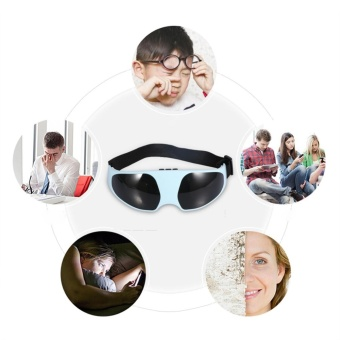 New Useful Electric Relieve Fatigue Healthy Migraine Mask ForeheadEye Massager - intl - 2