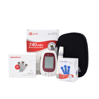 New YUYUE 720/740 Glucometer device monitor blood sugar glucosemeter 50 pcs test strips+50pcs lancets Price Philippines