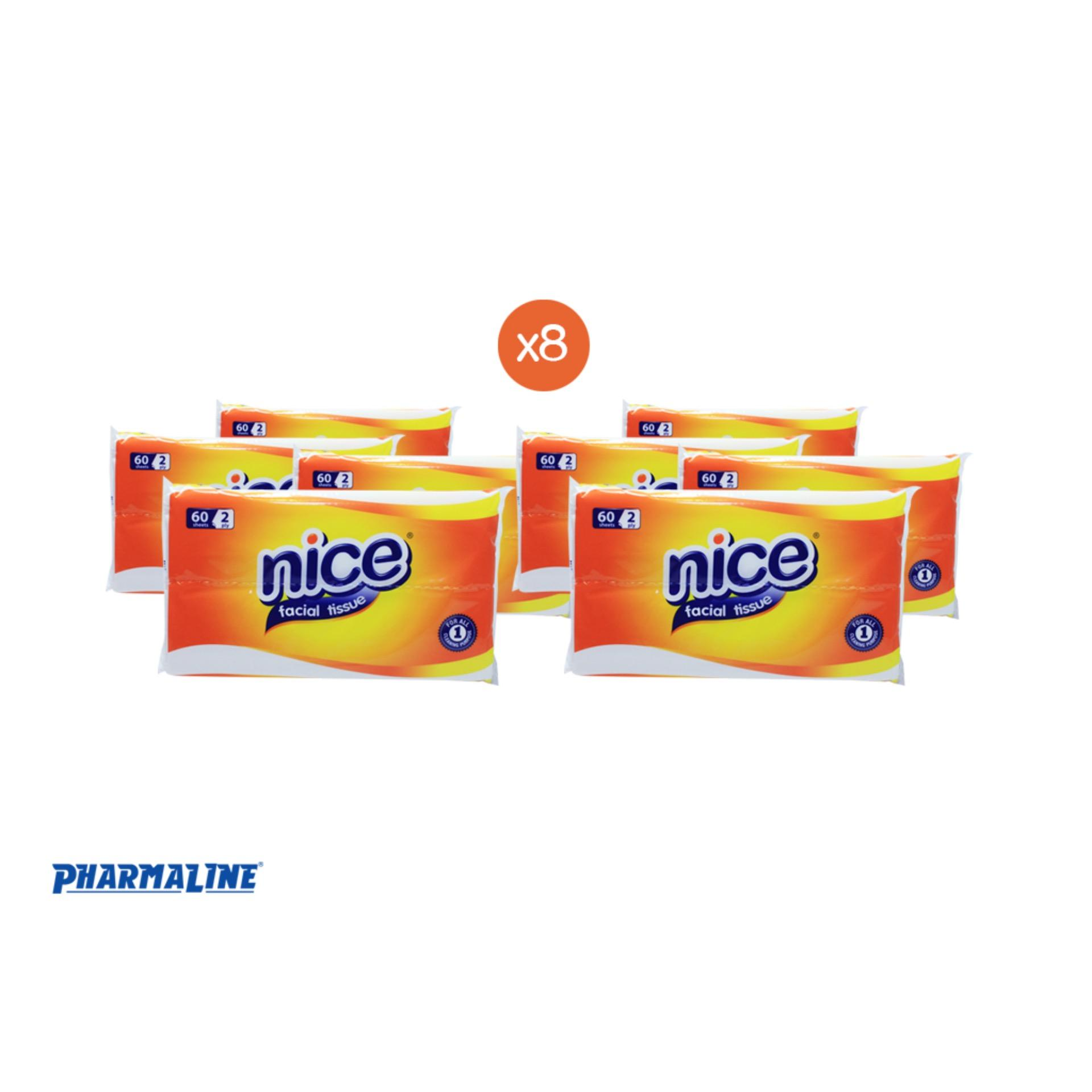 Nice Facial Tissue 2 Ply 60 Sheets 8 Packs Philippines