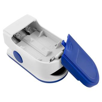 niceEshop Finger Pulse Oximeter Finger Oxygen Meter With Pulse Rate Monitor, Blue - intl - 4