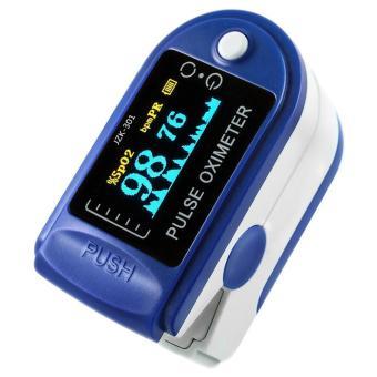 niceEshop Finger Pulse Oximeter Finger Oxygen Meter With Pulse Rate Monitor, Blue - intl - 2