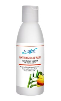 Nisce Whitening Facial Wash 100ml