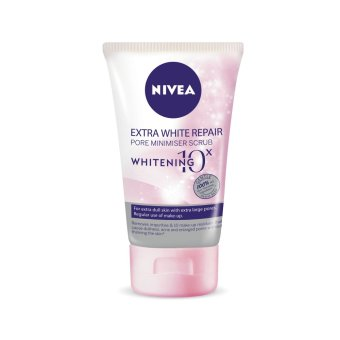 Nivea Extra White Repair Face Scrub 100g