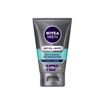 NIVEA Men Anti Oil + White Cooling Mud Foam 100g