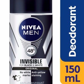 NIVEA MEN Deodorant Invisible for Black & White Power Roll-On 50mL