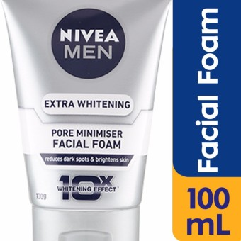 Nivea Men Whitening Facial Foam 100g