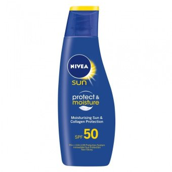 Nivea Sun Protect and Moisture Lotion SPF50 125ml