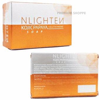 Nlighten Acne Solution ( Nlighten Kojic Papaya Soap withGlutathione, Nlighten Facial Cleanser, Nlighten Premium Soap ) - 2
