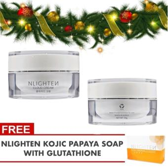 NLighten Cloud Cream 30grams + FREE KOJIC PAPAYA SOAP