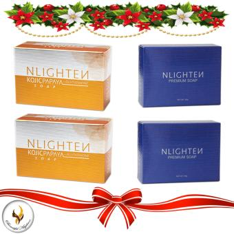Nlighten Combo Soaps (for Clarifying and Lightening Set)