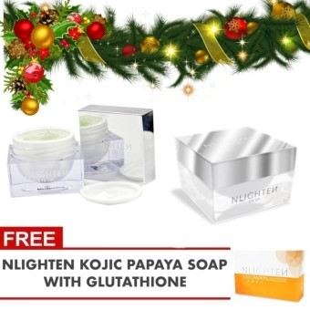 Nlighten Eye Gel + FREE KOJIC PAPAYA SOAP