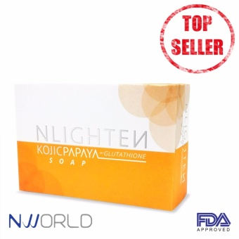 NLIGHTEN KOJIC PAPAYA GLUTATHIONE SOAP