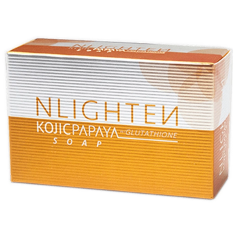 Nlighten Kojic Papaya soap with Glutathione Soap 135g