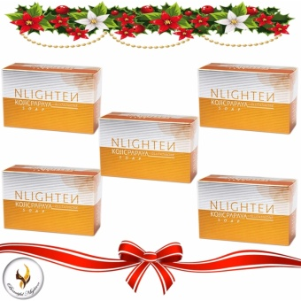 Nlighten Kojic Papaya with Glutathione Soap 135g Set of 5