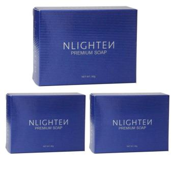 Nlighten Premium Soap 90g Set of 3