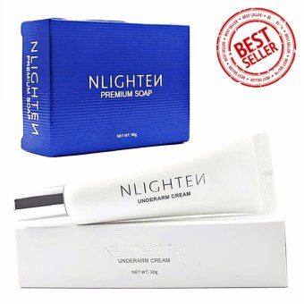 Nlighten Underarm Cream & Premium Soap Set ( Best Seller )