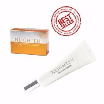 NLighten Underarm Instant Brightening Set of Kojic Papaya Soap andUnderarm Cream