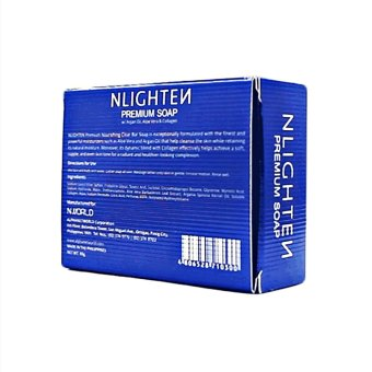 Nligthen Premium Soap with Argan oil and Collagen 90g - 3