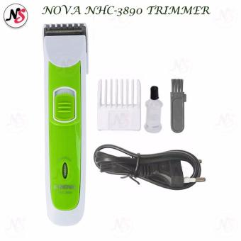 Nova NHC-3890 GRN Professional Clipper Trimmer for Men (Green)