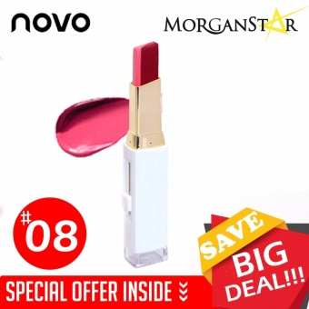 NOVO #5095 Double Color Lipstick Makeup Moisturizing Color Gradient Lipstick #8